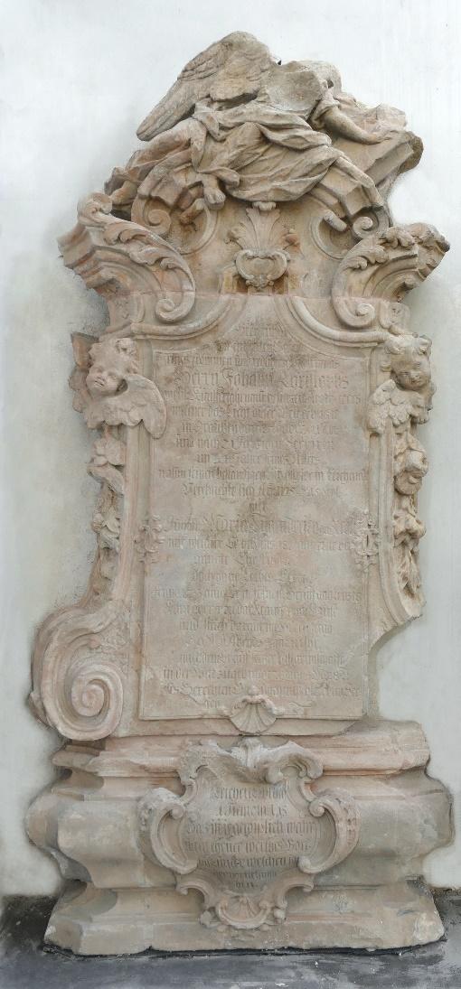 5. Epitafium ku czci Johanna Christopha /*1662 +1733/